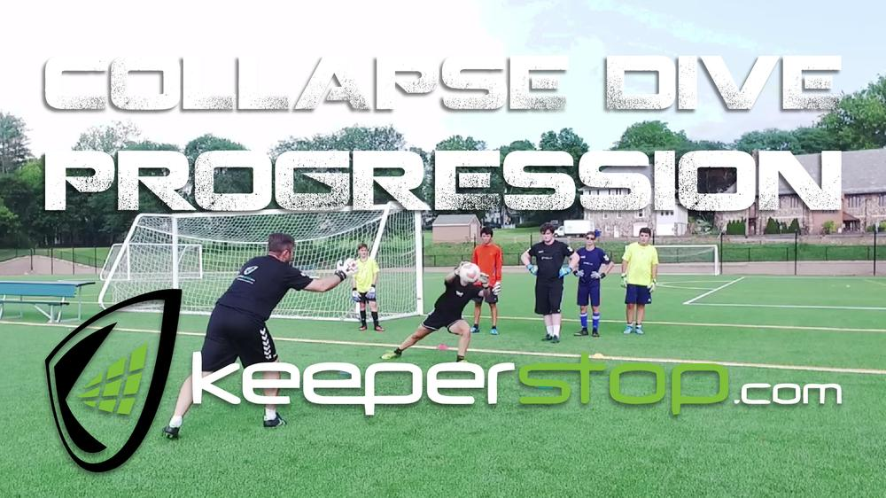 Goalkeeper Collapse Dive Training