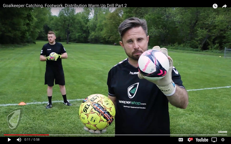 Goalkeeper Training Warm Up