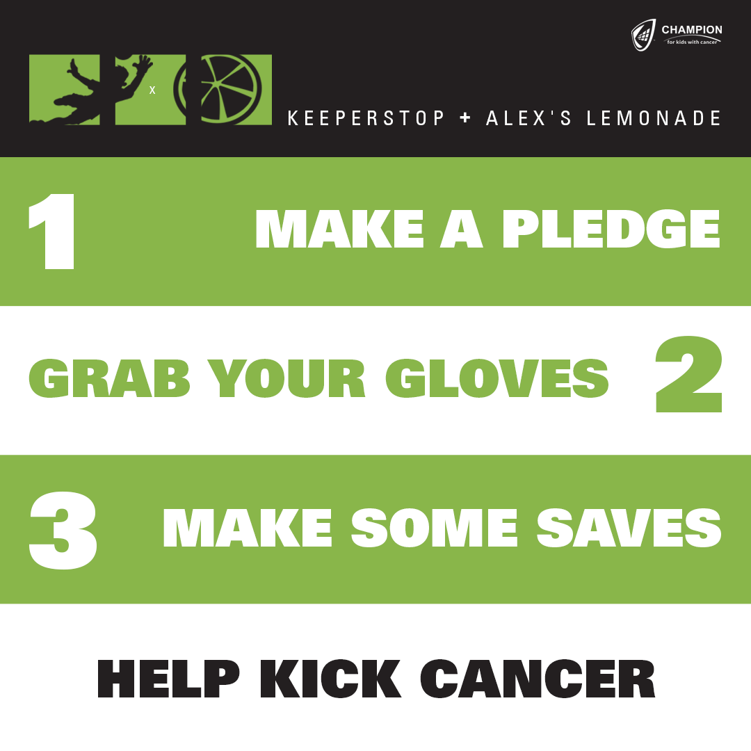 Goalkeeper For Kids With Cancer