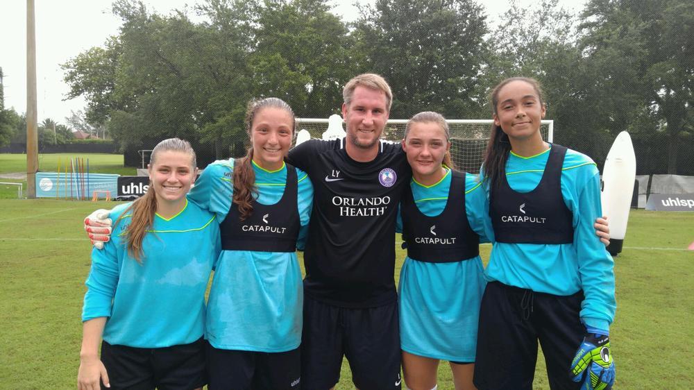 Goalkeeper Coach Lloyd Yaxley