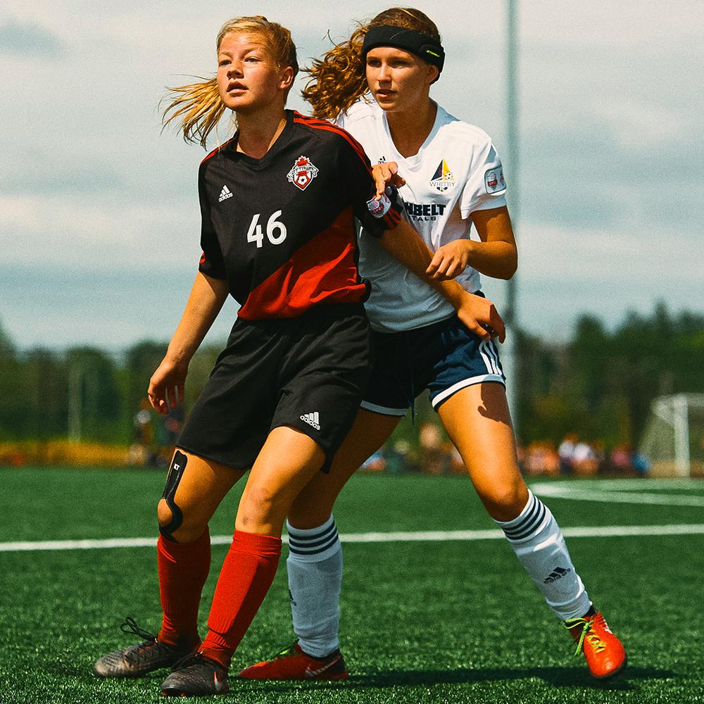 Soccer goalie head protection