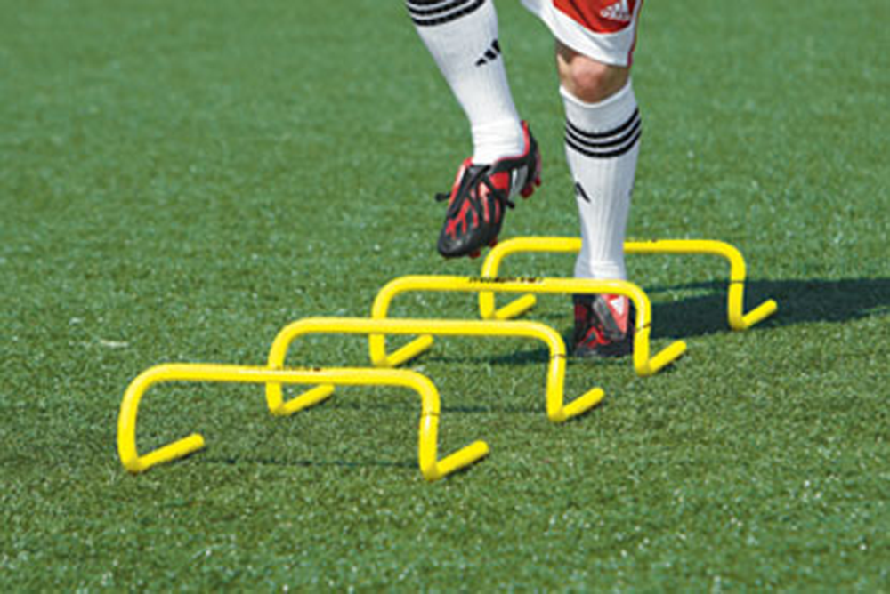 Kwik Goal 6 Inch Speed Hurdles | Keeperstop