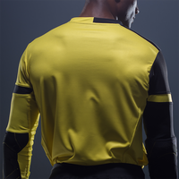 Storelli Exoshield Gladiator Goalkeeper Jersey Yellow Back