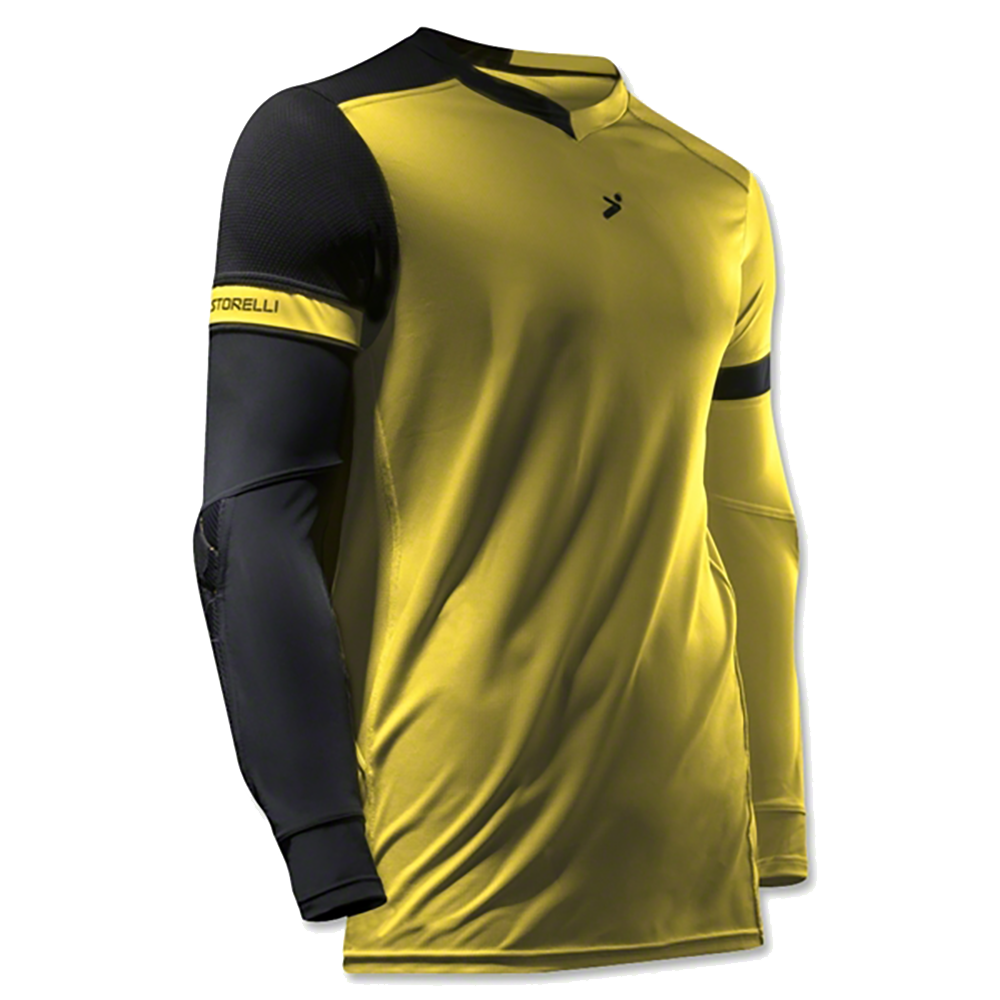 Storelli Exoshield Gladiator Goalkeeper Jersey Yellow