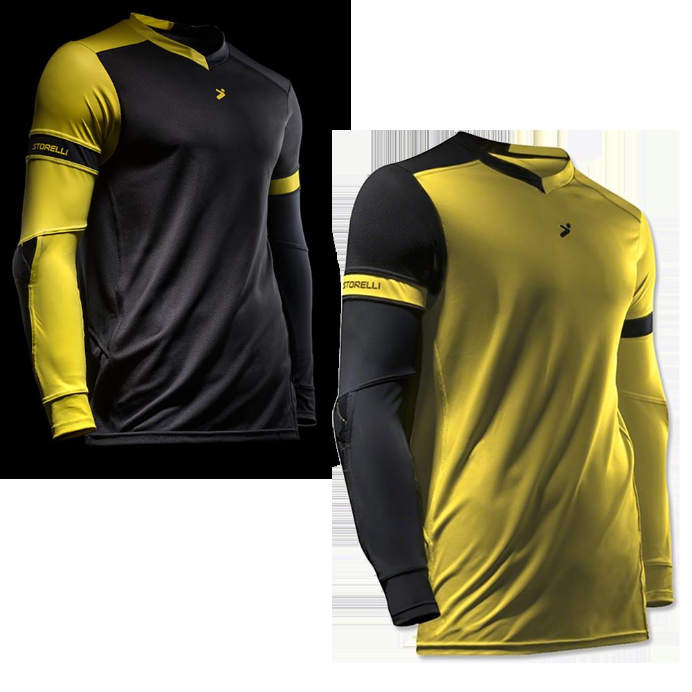 Storelli Exoshield Gladiator Goalkeeper Jersey Both Colors