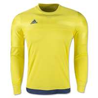 adidas Entry 15 Goalkeeper Jersey Yellow