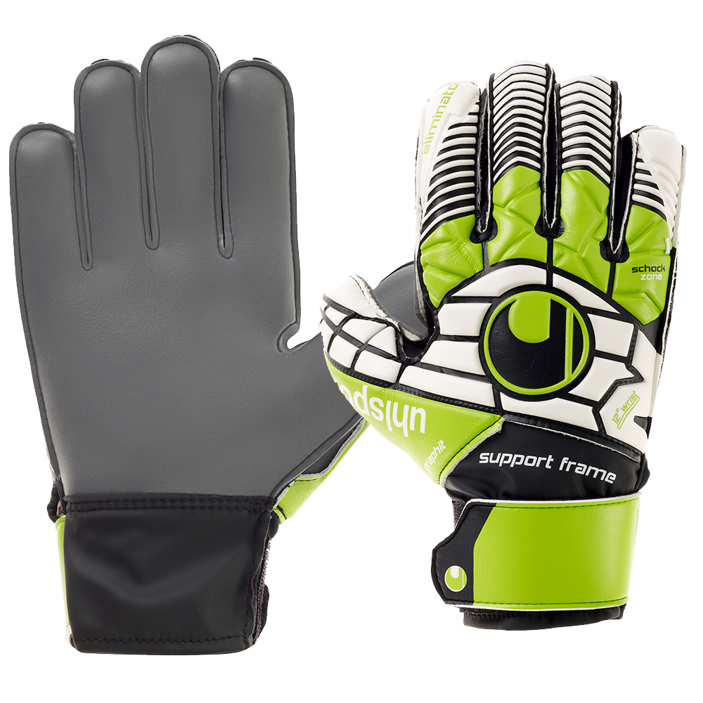Uhlsport Eliminator Soft Graphit SF Goalkeeper Gloves