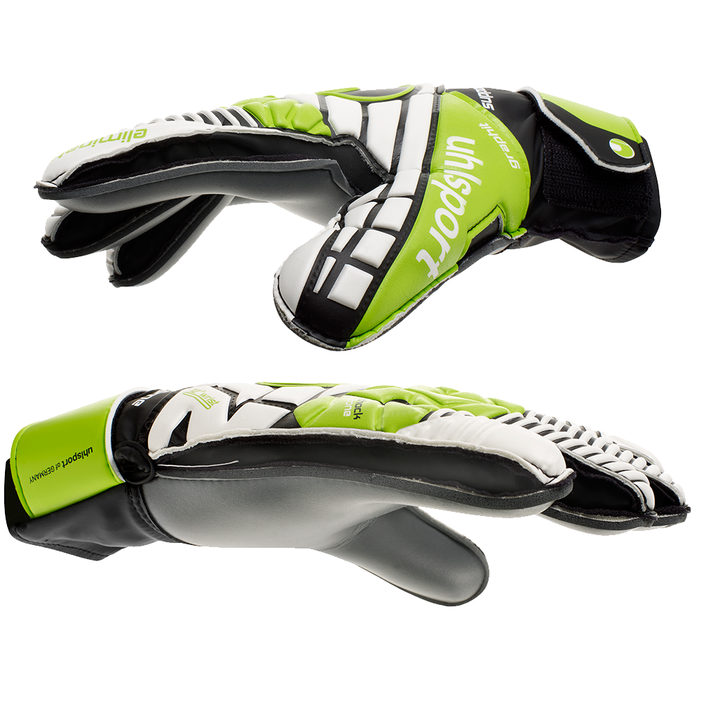 Uhlsport Eliminator Soft Graphit SF Goalkeeper Gloves Side View