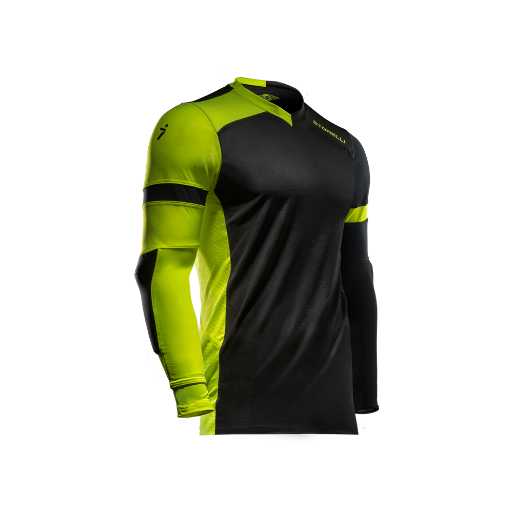 Storelli Exoshield Gladiator Goalkeeper Jersey Black