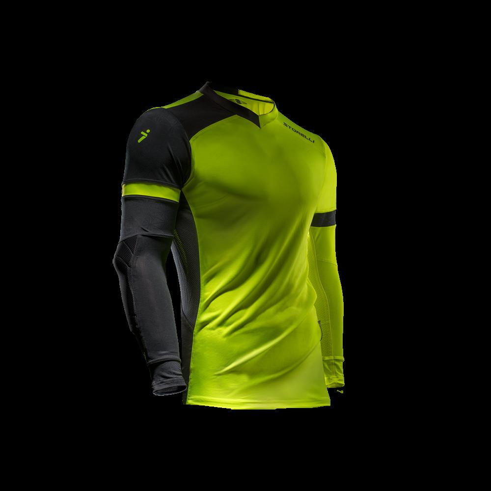 dd06353e3 Storelli Exoshield Gladiator Goalkeeper Jersey Strike Yellow
