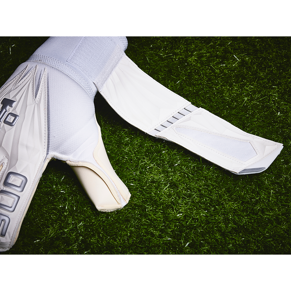 The One Glove Geo Argentum Goalkeeper Glove Wrist Strap
