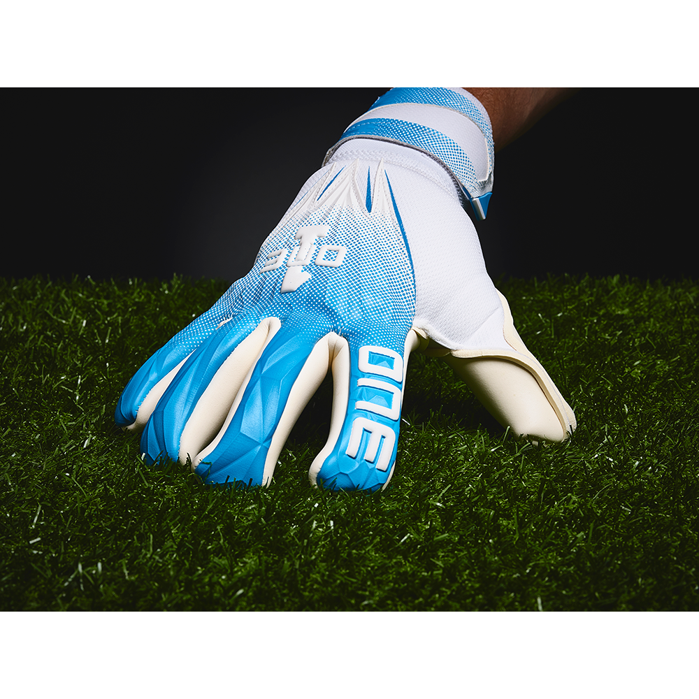 The One Glove Geo AQ3 Goalkeeper Glove Back Hand
