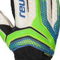 Reusch Serathor Prime R2 Green Blue Backhand
