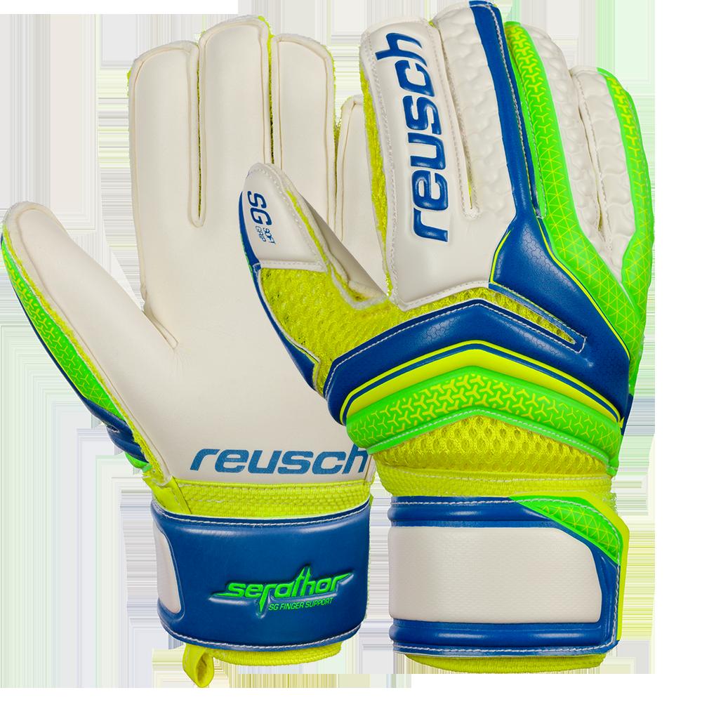 Reusch Serathor SG Finger Support Junior Goalie Glove with Protection  10d3363a2