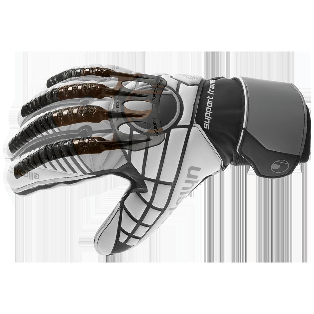 Uhlsport goalie glove with fingersaves