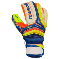 Reusch junior goalkeeper glove with finger protection