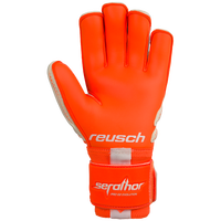 Reusch Soccer Glove in Vibrant Orange