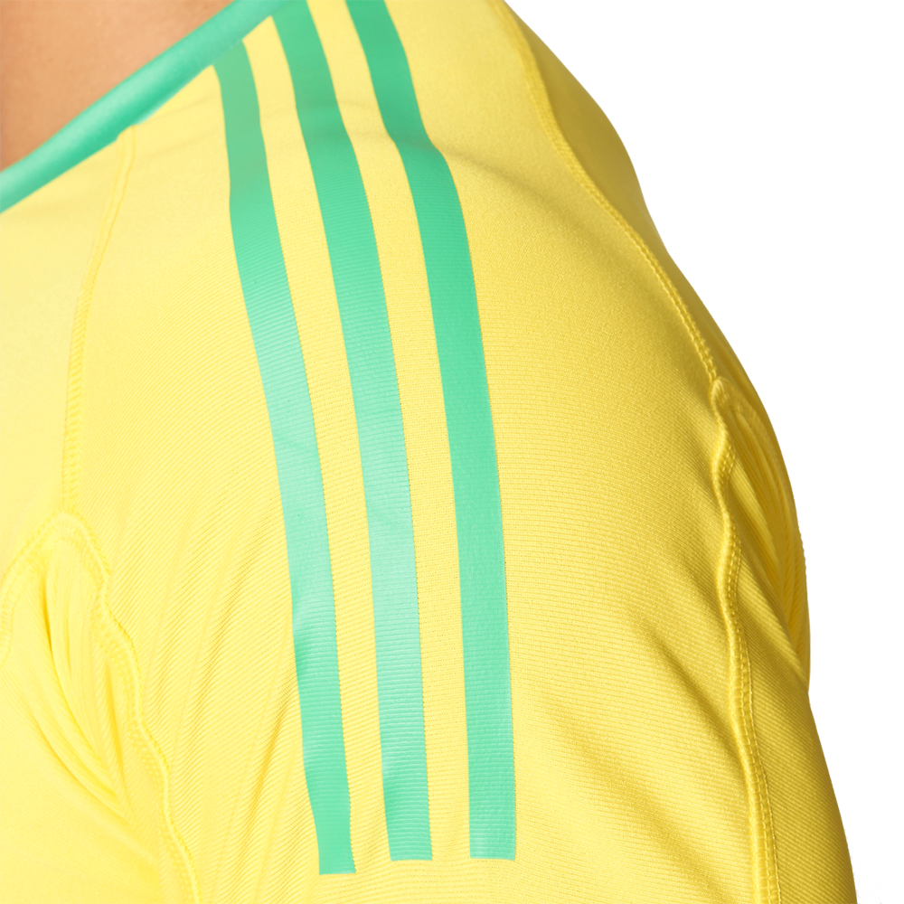 0733a88fa Adidas Youth goalkeeper shirt 2017 in bright yellow