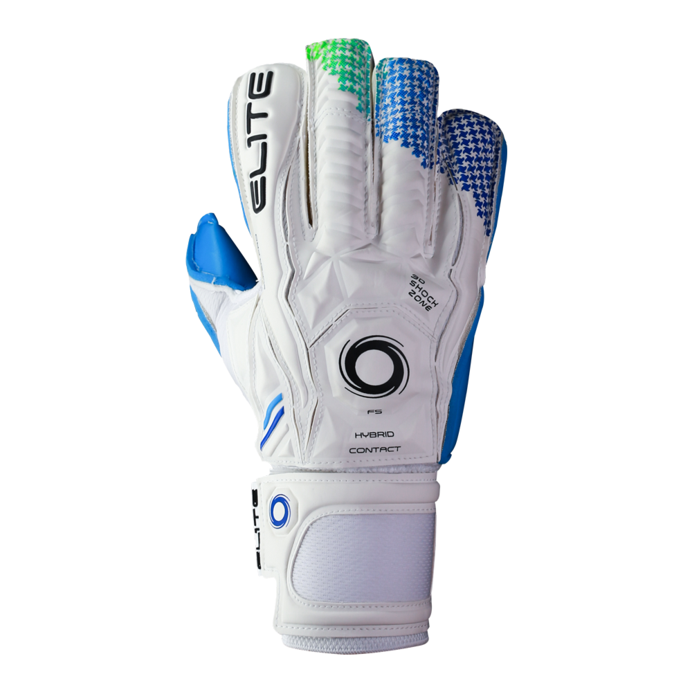 Comfortable goalkeeper glove backhand