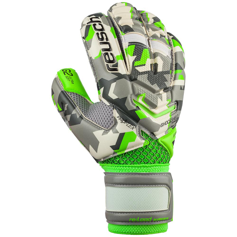 Reusch Re:Load Camo Deluxe G2 Goalkeeper Glove Backhand