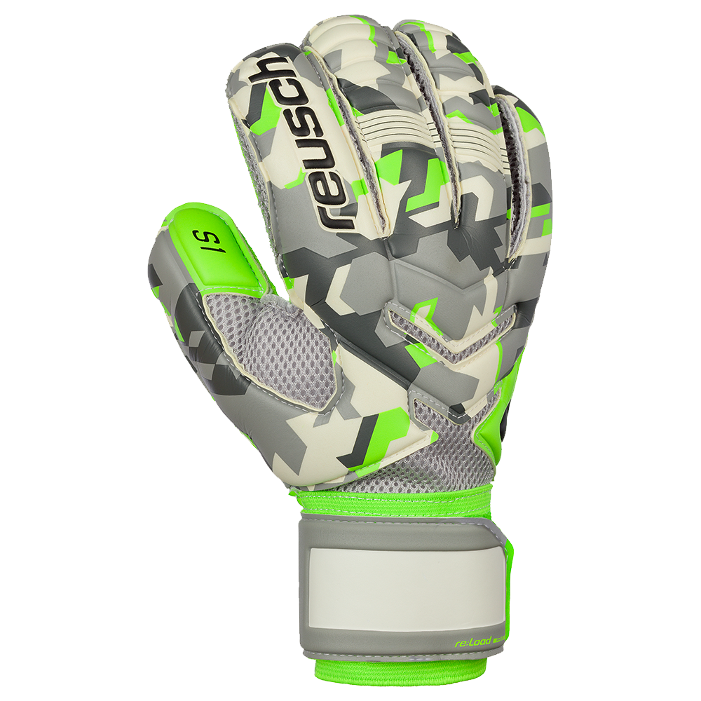 a6cdeae3f Improved grip and durability in these Reusch soccer goalie gloves ...