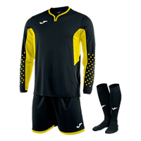 Black Joma Zamora III Goalkeeper Kit