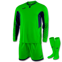 Green Joma Zamora III Goalkeeper Kit