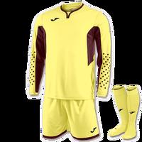 Yellow Joma Zamora III Goalkeeper Kit