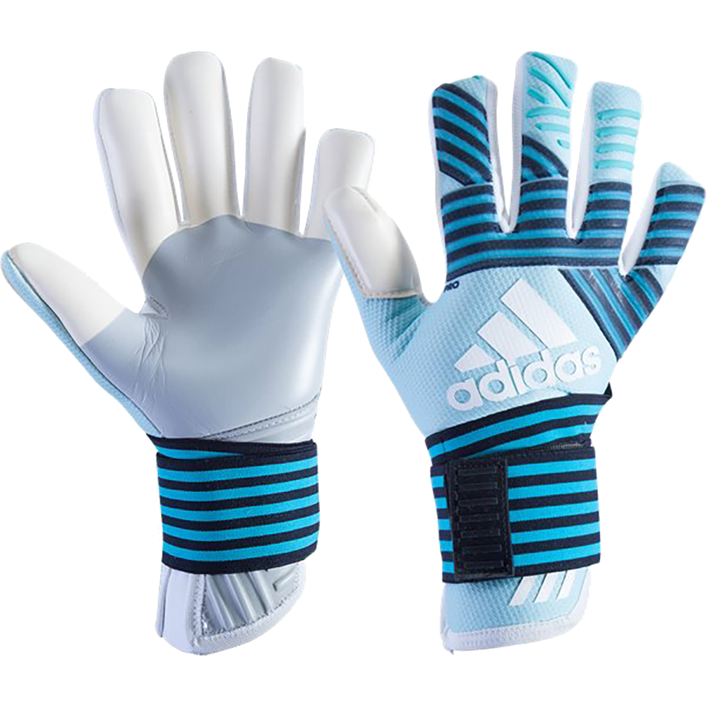 pretty nice 3a2cb 5ead6 New Adidas Goalkeeper Glove in Negative Cut and Energy Blue ...