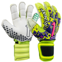 Rinat Asimetrik Etnik Spine Pro Goalkeeper Glove in Neon
