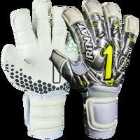 Rinat Asimetrik Etnik Spine Goalie Glove Pro in Silver
