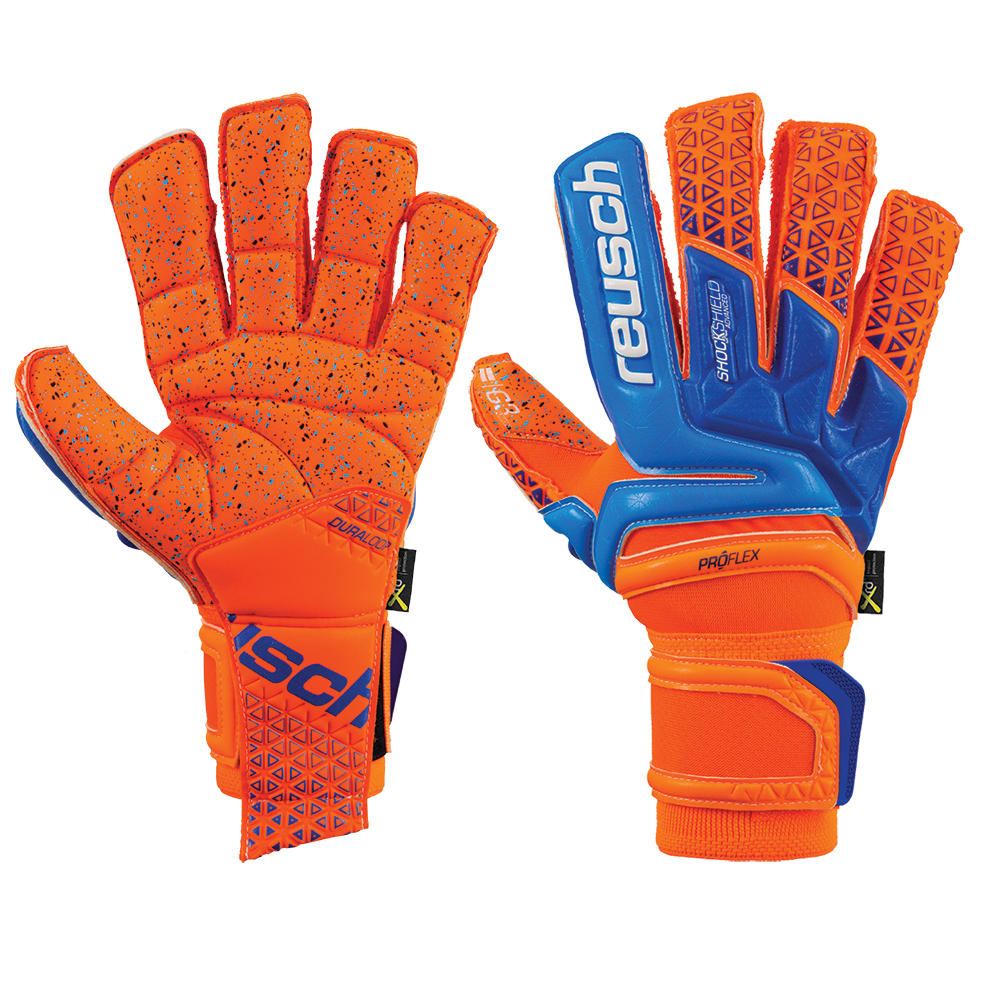 Reusch Goalkeeper Glove with new G3 all weather wet and dry latex ... fefb22c24856
