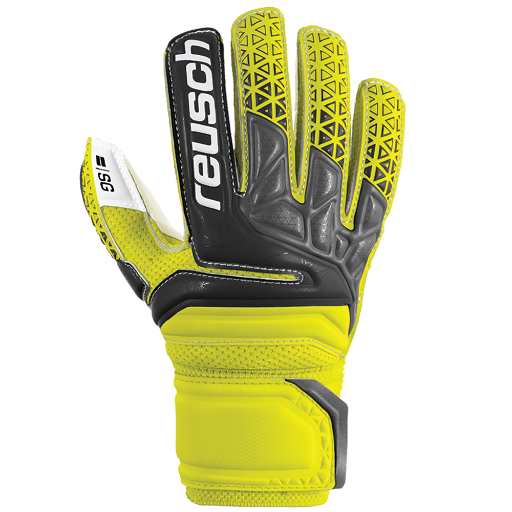 Backhand of Reusch Prisma SG Finger Support Junior