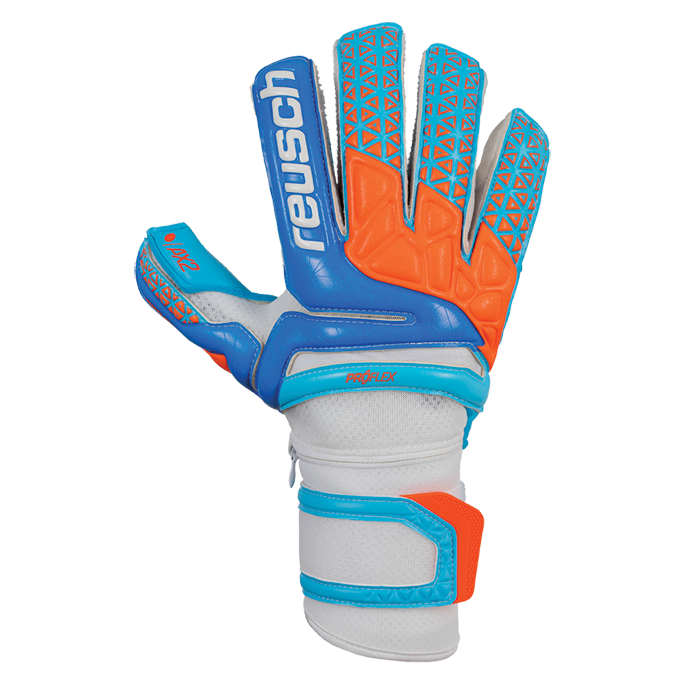 Backhand of the Reusch Prisma Pro AX2 Ortho-Tec