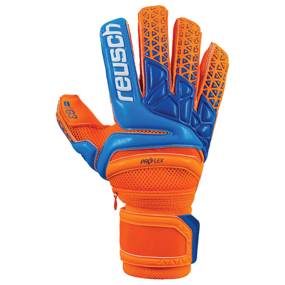 Backhand of the Reusch Prisma Pro G3 Ortho Sleek