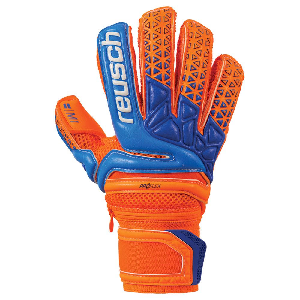 Backhand of the Reusch Prisma Pro M1 Ortho-Tec Junior
