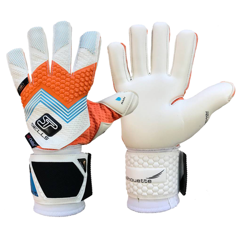 Sells Silhouette Elite Aqua Goalkeeper Glove