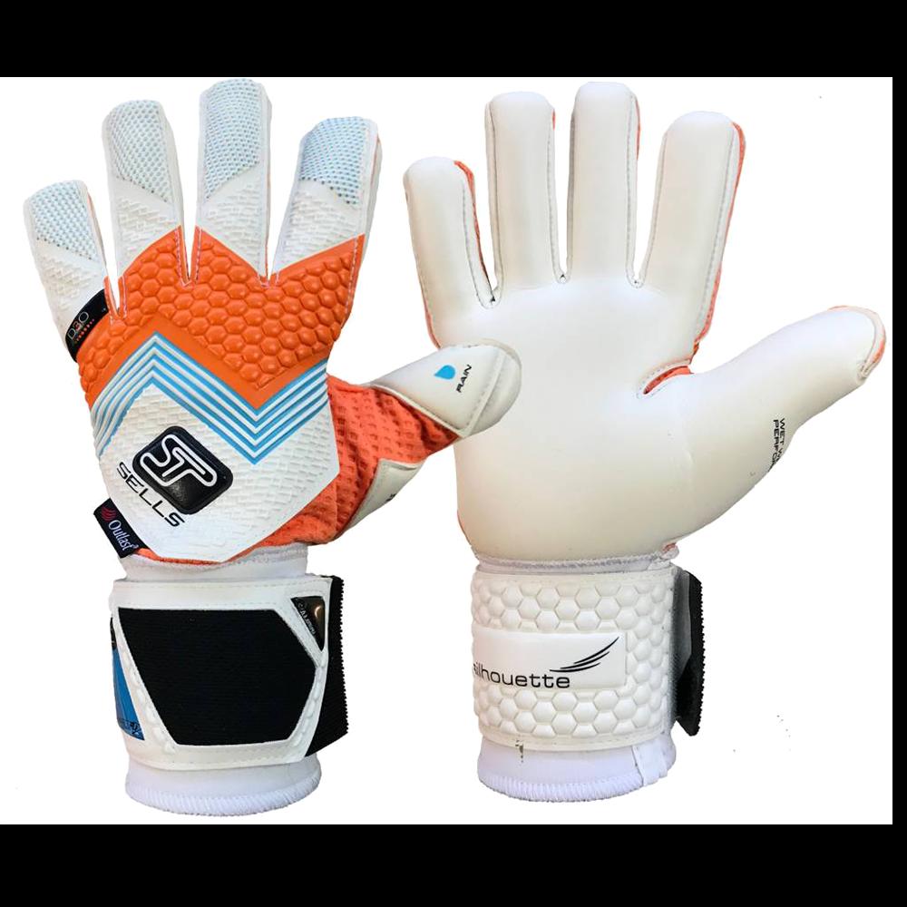 Sells Silhouette Elite Aqua Goalkeeper Glove