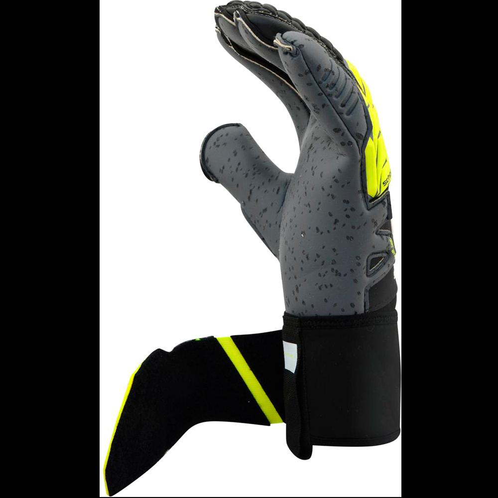 Side view of the Uhlsport Supergrip Bionik+ Goalkeeper Glove