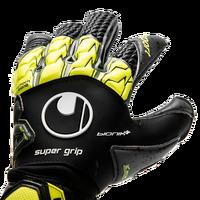 Backhand on the Uhlsport Supergrip Bionik+ Goalkeeper Glove
