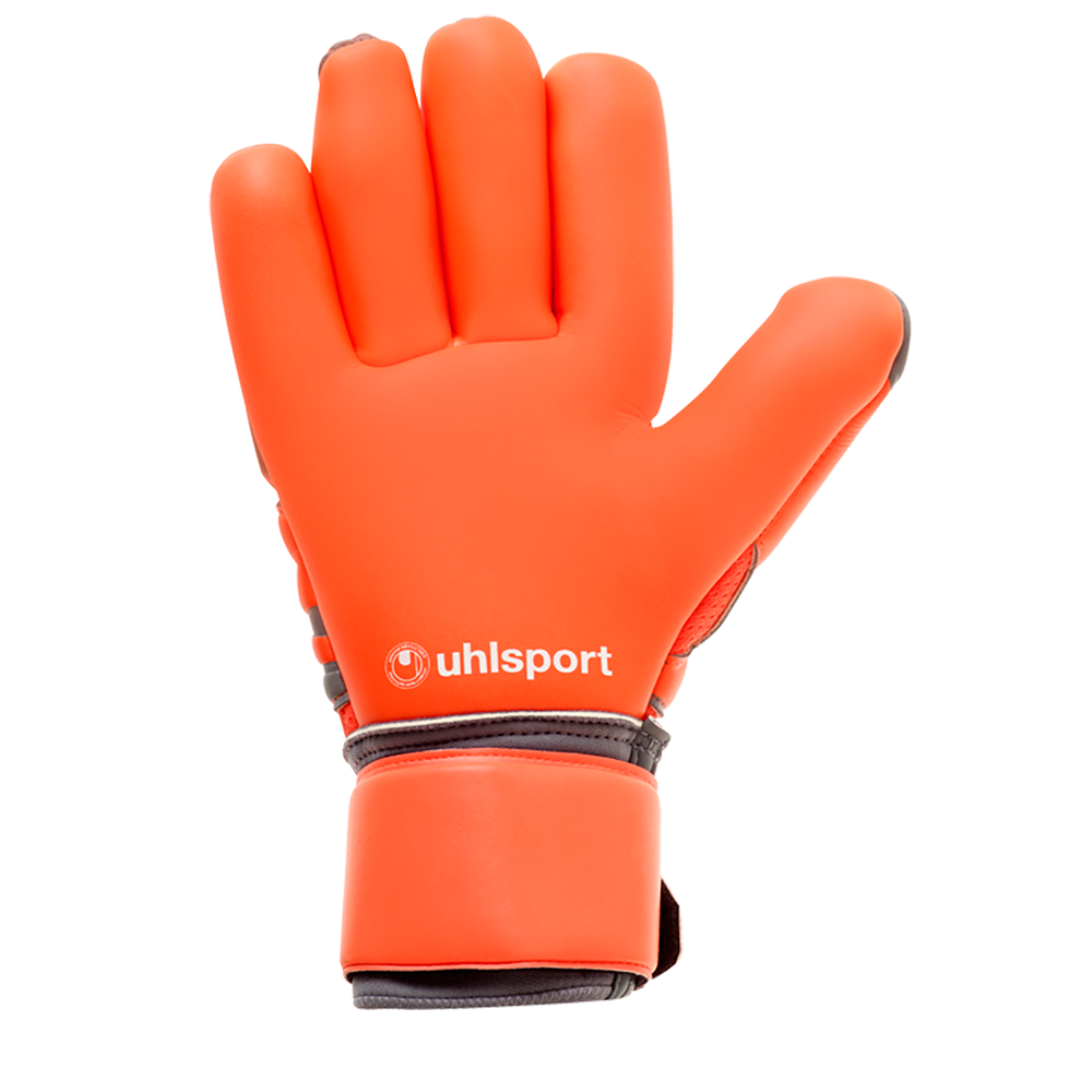 Palm of the Uhlsport Aerored Absolutgrip Finger Surround