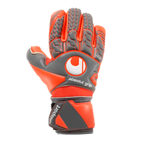 Backhand of the Uhlsport Aerored Absolutgrip Finger Surround