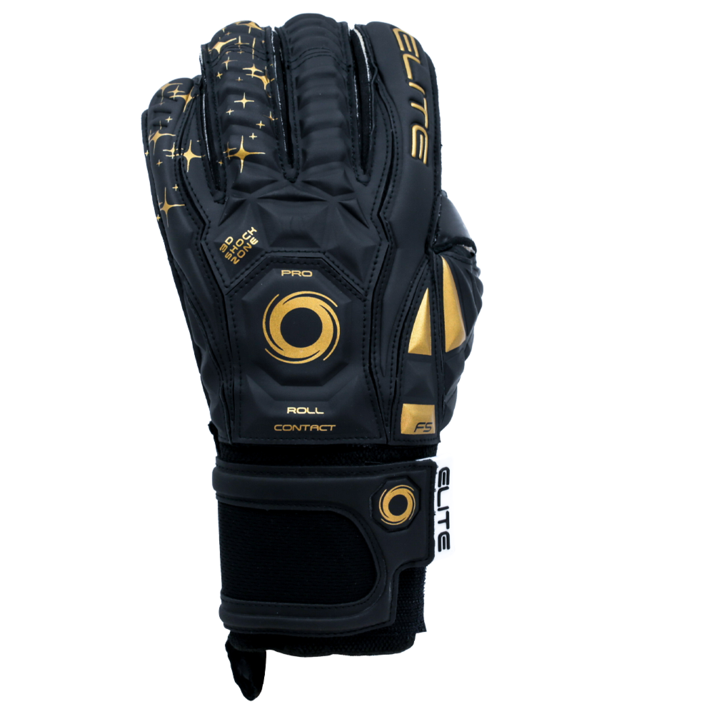 Elite Sport USA Black Real Goalie Glove