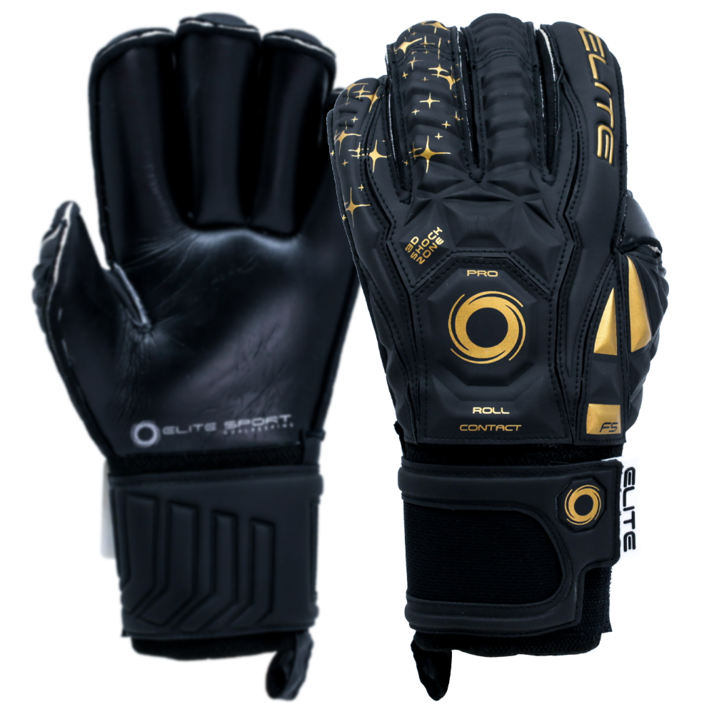 Elite Sport Black Real Goalkeeper Glove