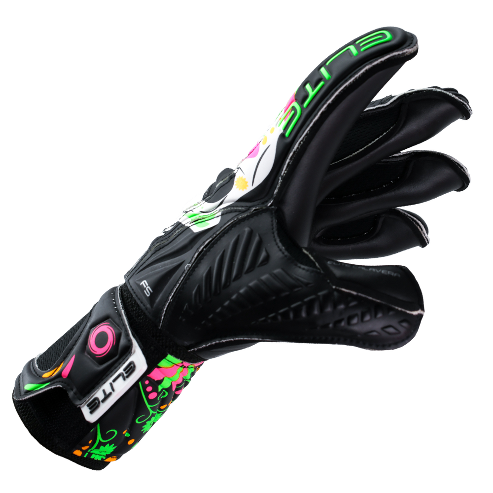 Roll Flat Fingers Goalkeeper Gloves