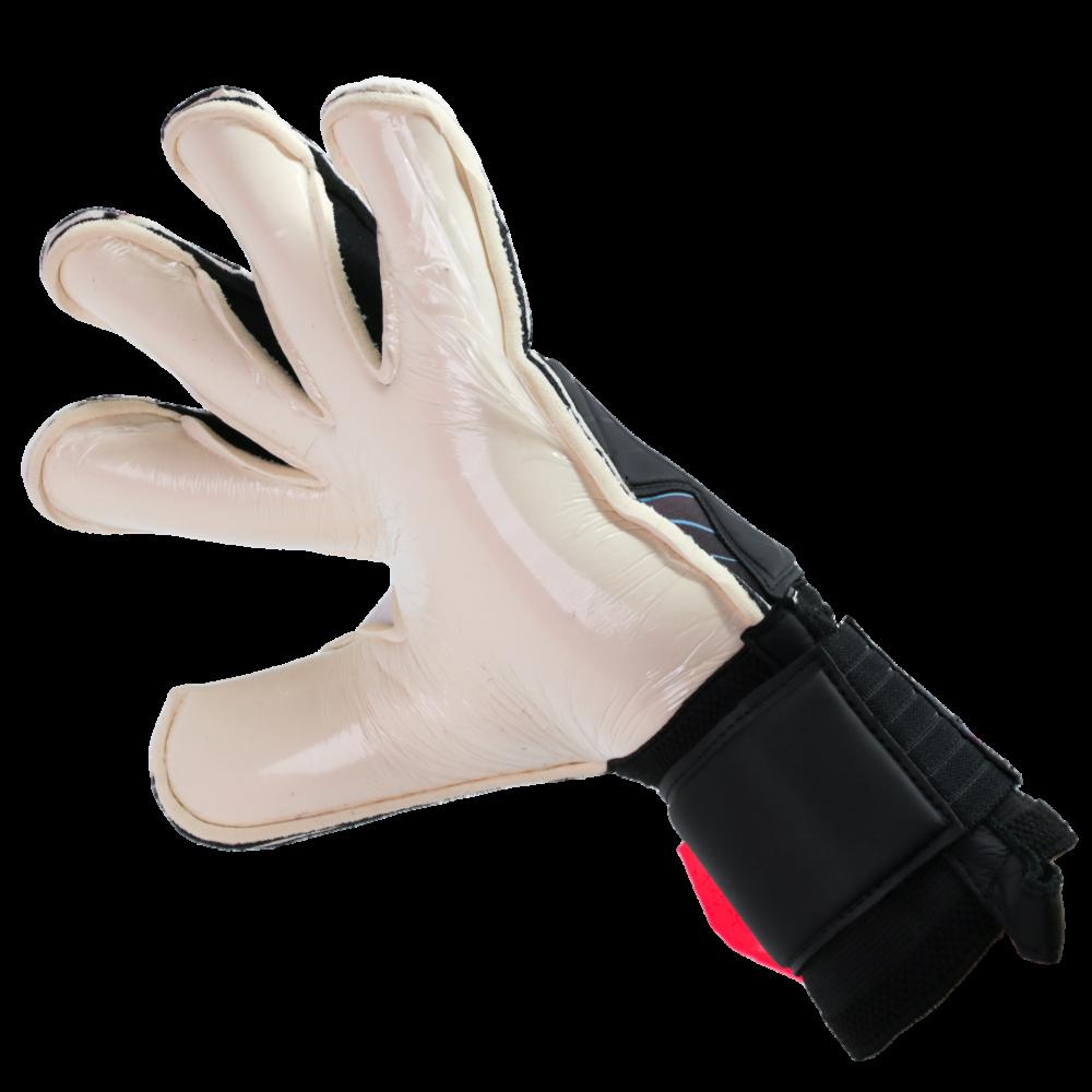 Roll finger goalie glove design
