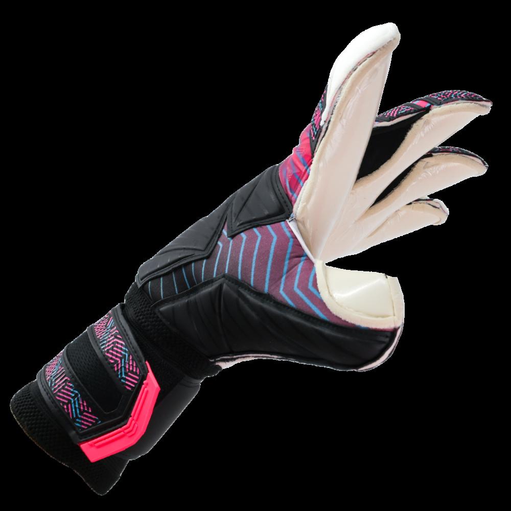 Hybrid cut goalkeeper glove