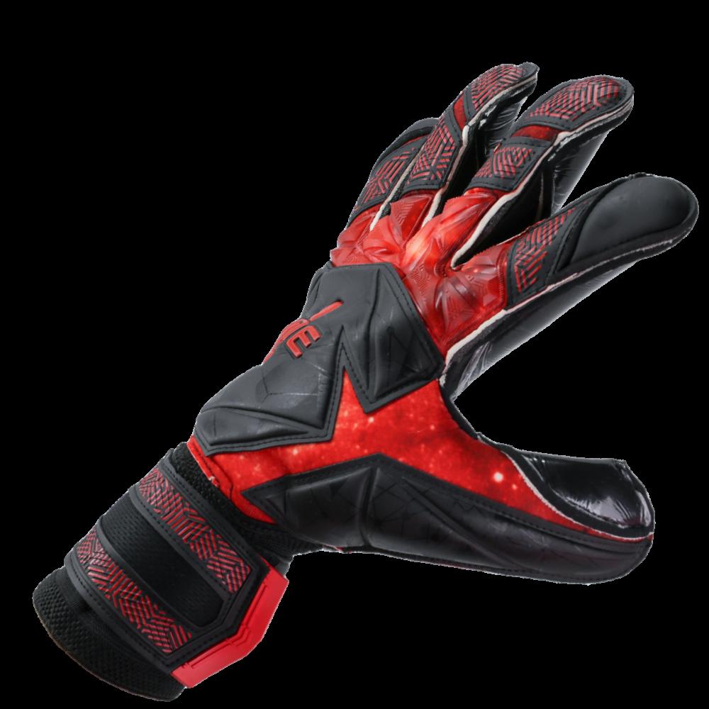 3D goalkeeper glove backhand for punching