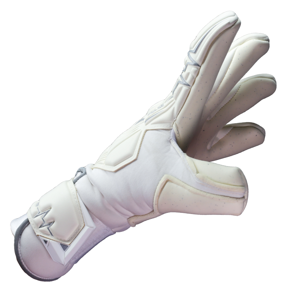 Hybrid cut goalkeeper glove