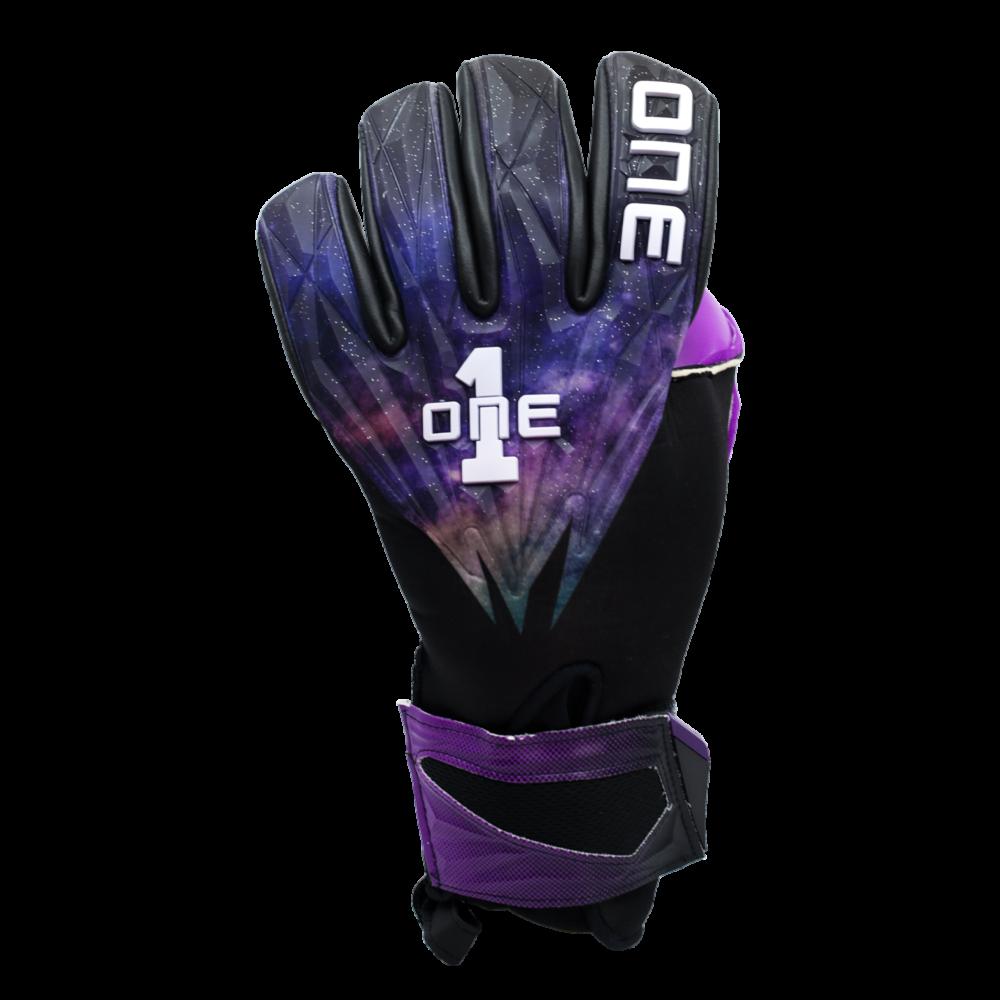 GEO-GLV The One Glove Nebula Goalkeeper Glove Backhand Space